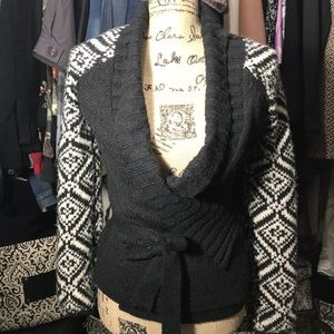BKE Wrap Sweater